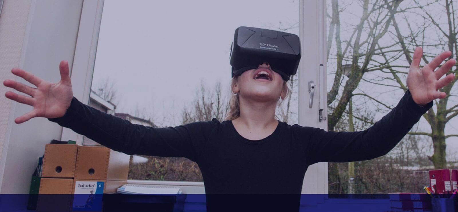 VR in de klas helpt lesstof beleven